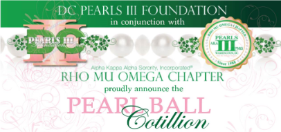 Amija Coleman: DC Pearls III 2020-21 Pearl Ball Cotillion image