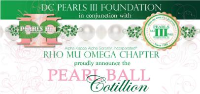 Monique Thomas: DC Pearls III 2020-21 Pearl Ball Cotillion image