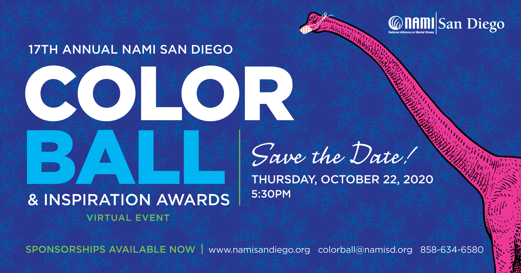 17th Annual NAMI San Diego Color Ball & Inspiration Awards image