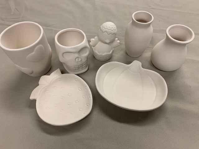 Pottery Paint Kits - $7  image