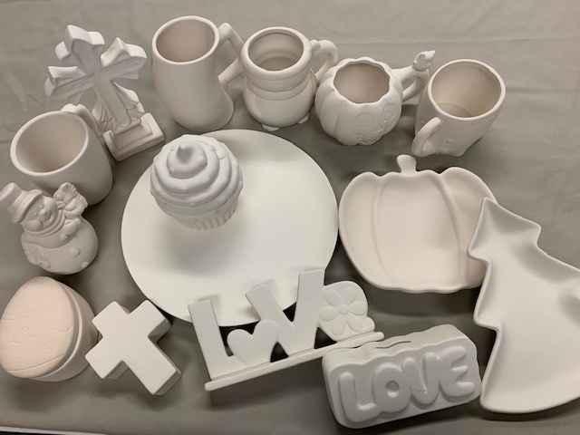 Pottery Paint Kits - $10 image