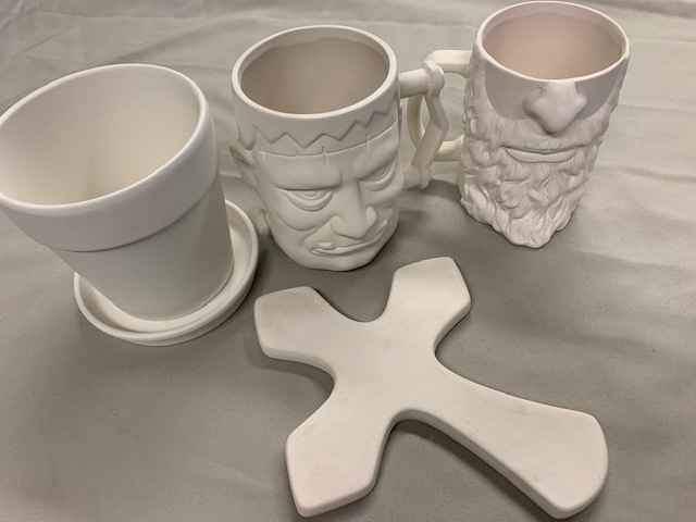Pottery Paint Kits - $17 image