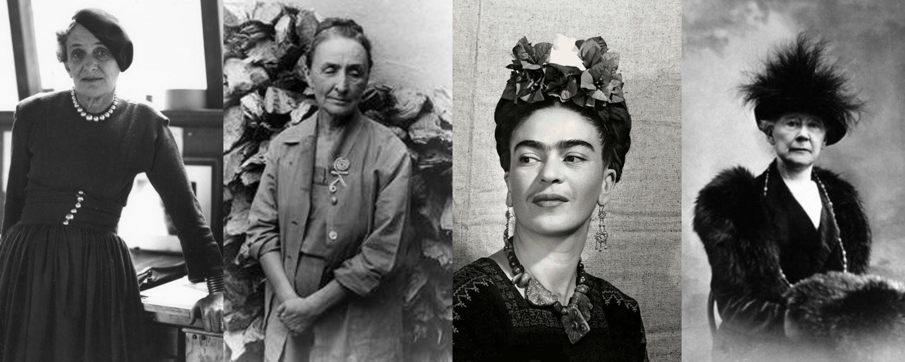 Family Art Club: Women in Art image