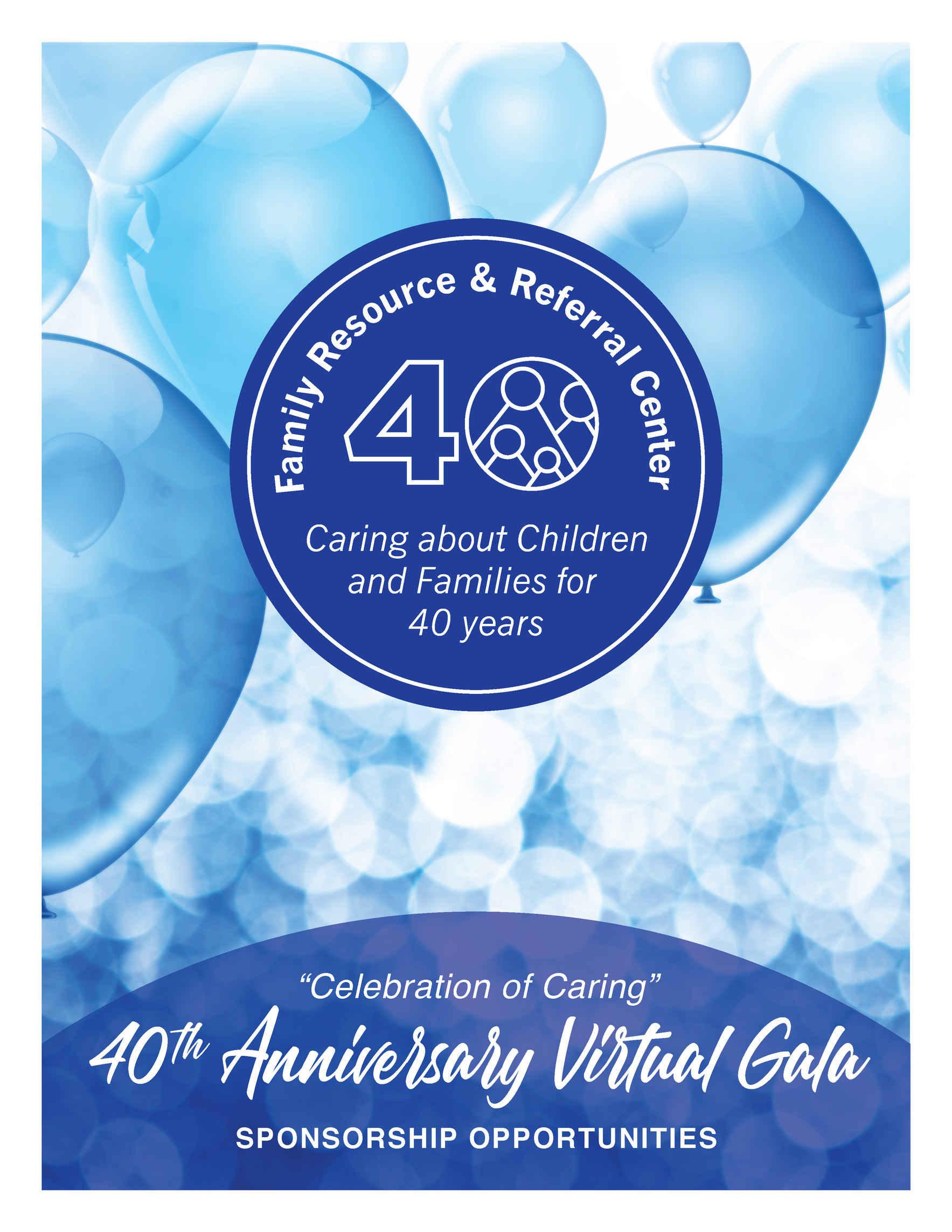"""Celebration of Caring"" 40th Anniversary Virtual Gala image"