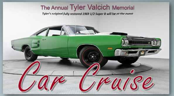 The Tyler Valcich Memorial Car Cruise  image