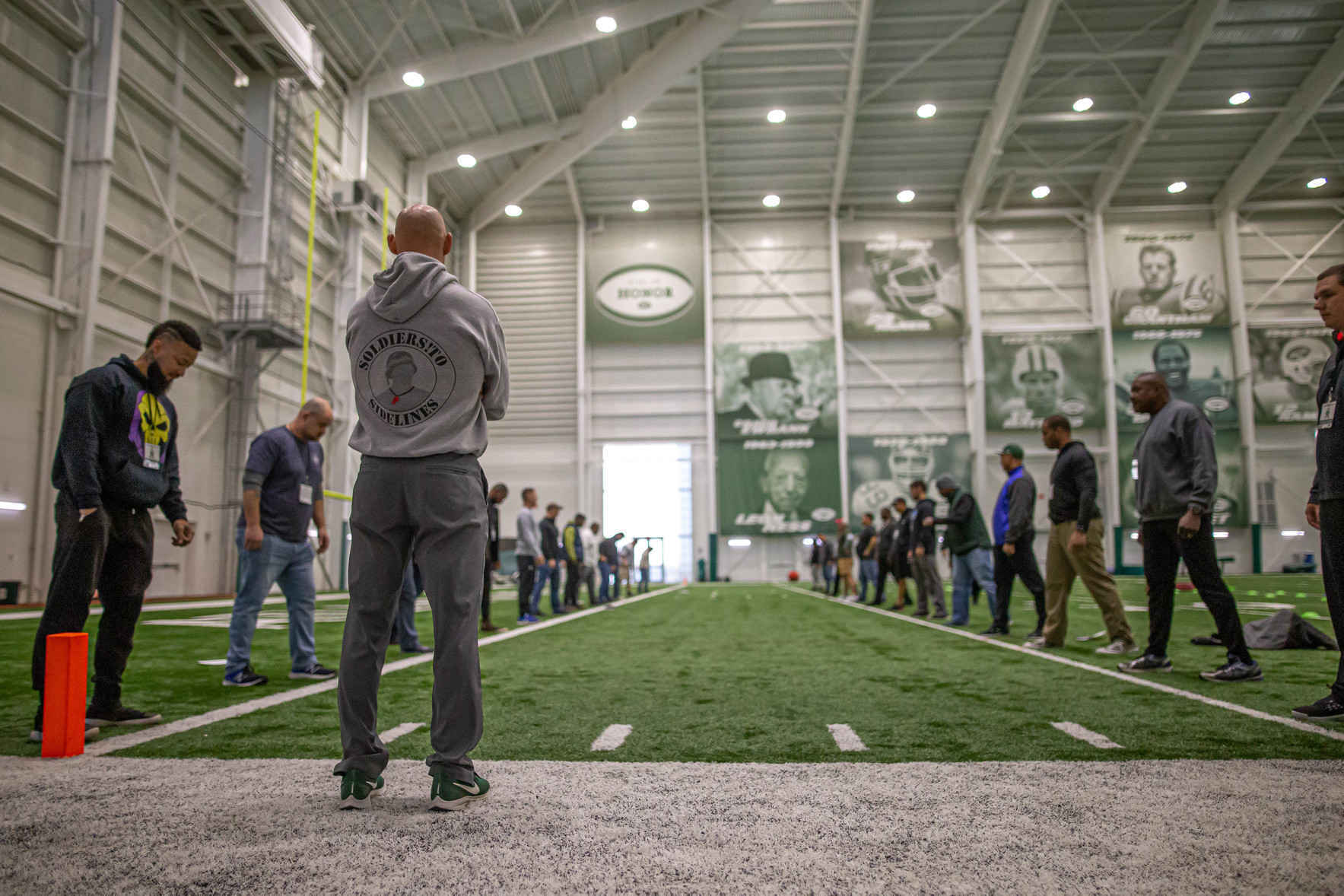 Soldiers To Sidelines New York Jets Football Coaching Certification Seminar image