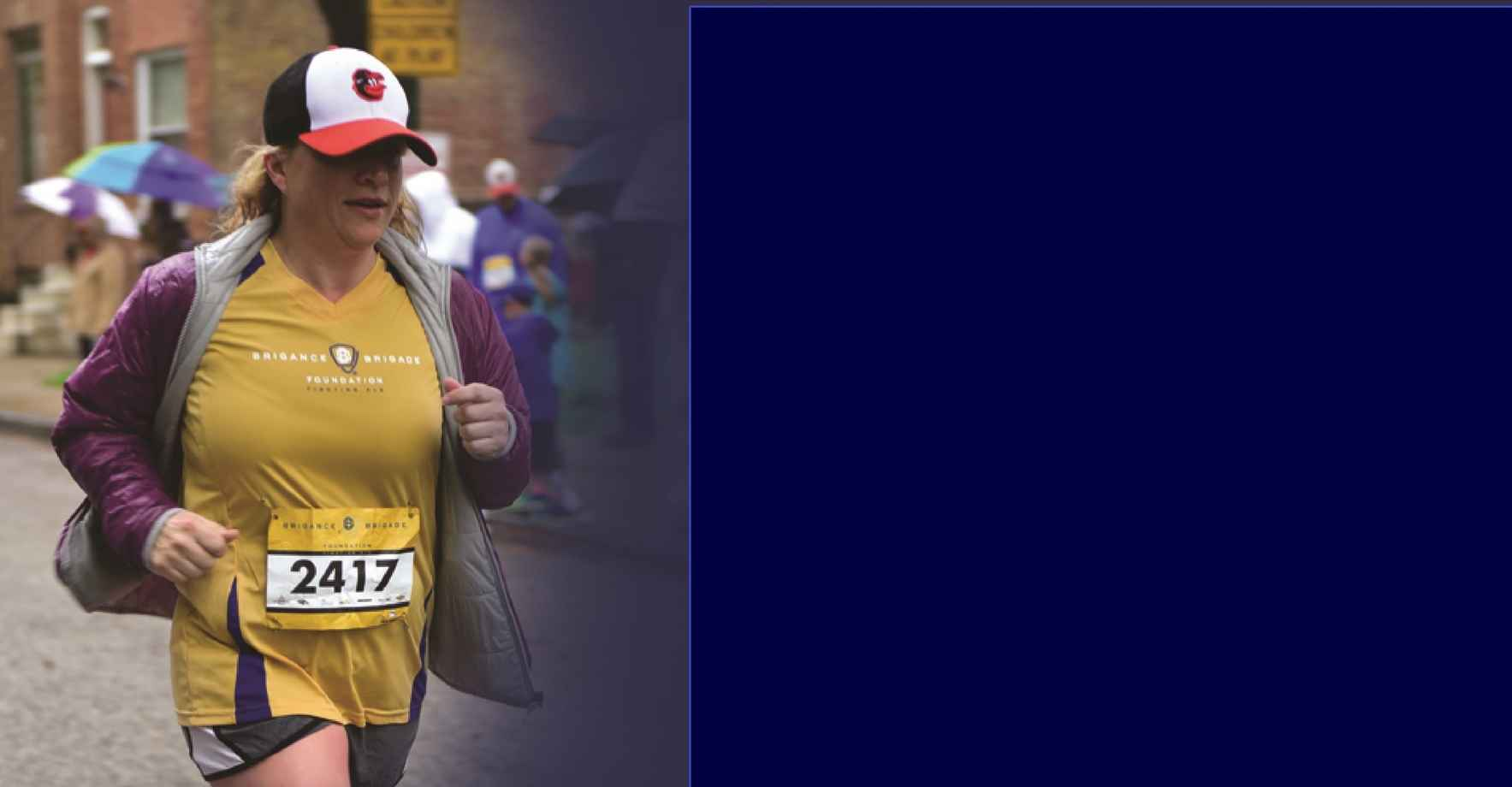 Baltimore Running Festival - Brigance Brigade Foundation charity team image