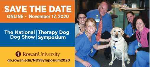 The National Dog Show Therapy Dog Symposium 2020 image