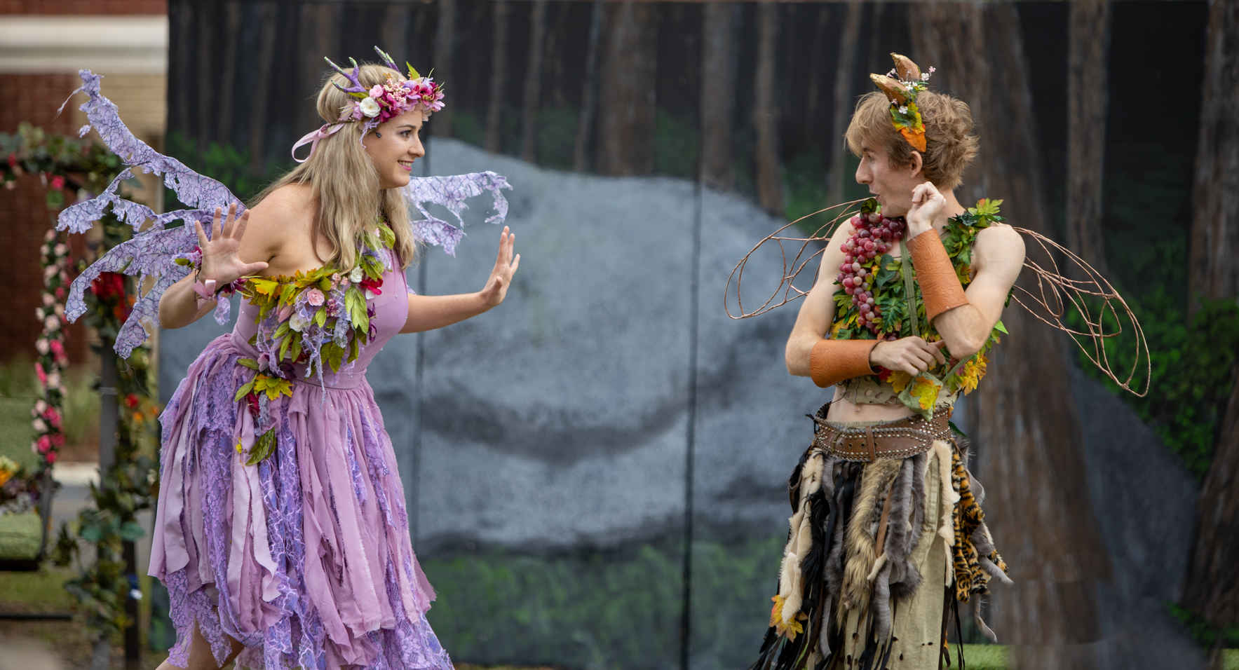 A Mini Midsummer Night's Dream Open-Air Production at Goodwood Museum & Gardens image