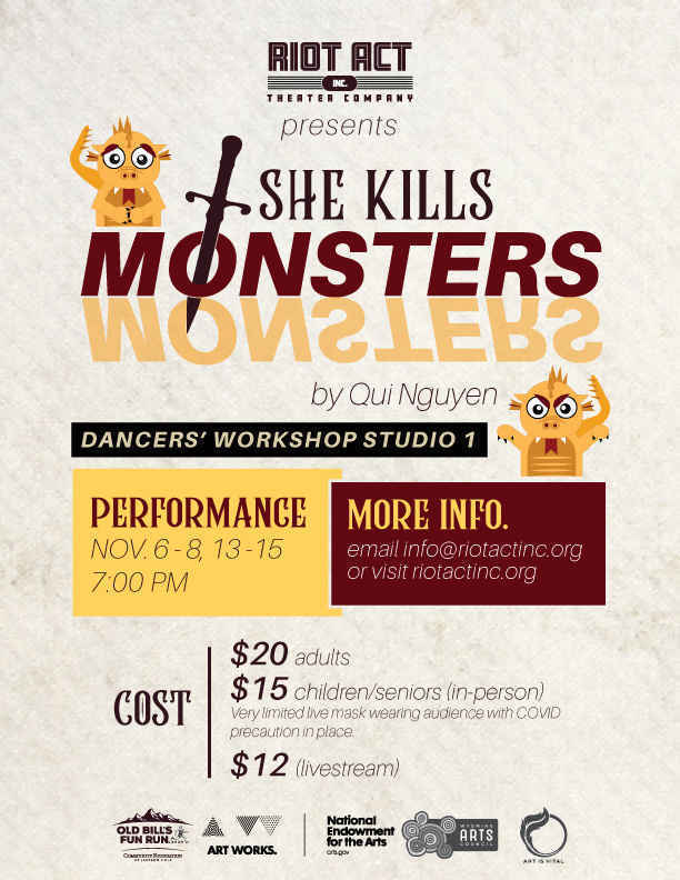 She Kills Monsters image