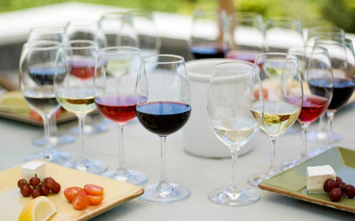 Palette to Palate Wine Dinner image