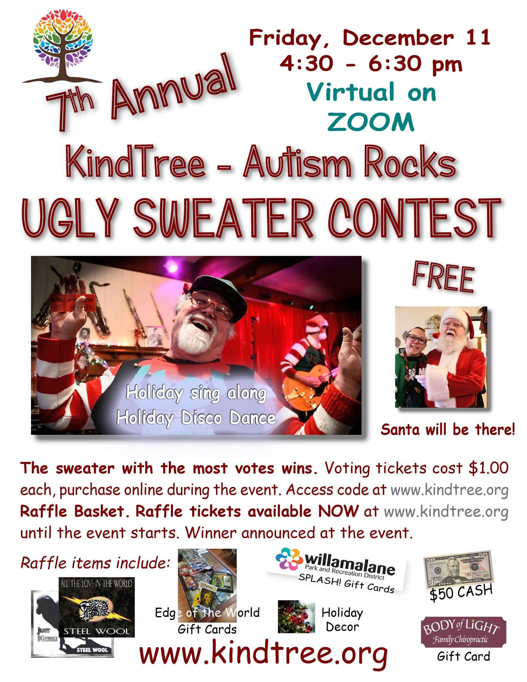 7th Annual Ugly Sweater Contest and Party image