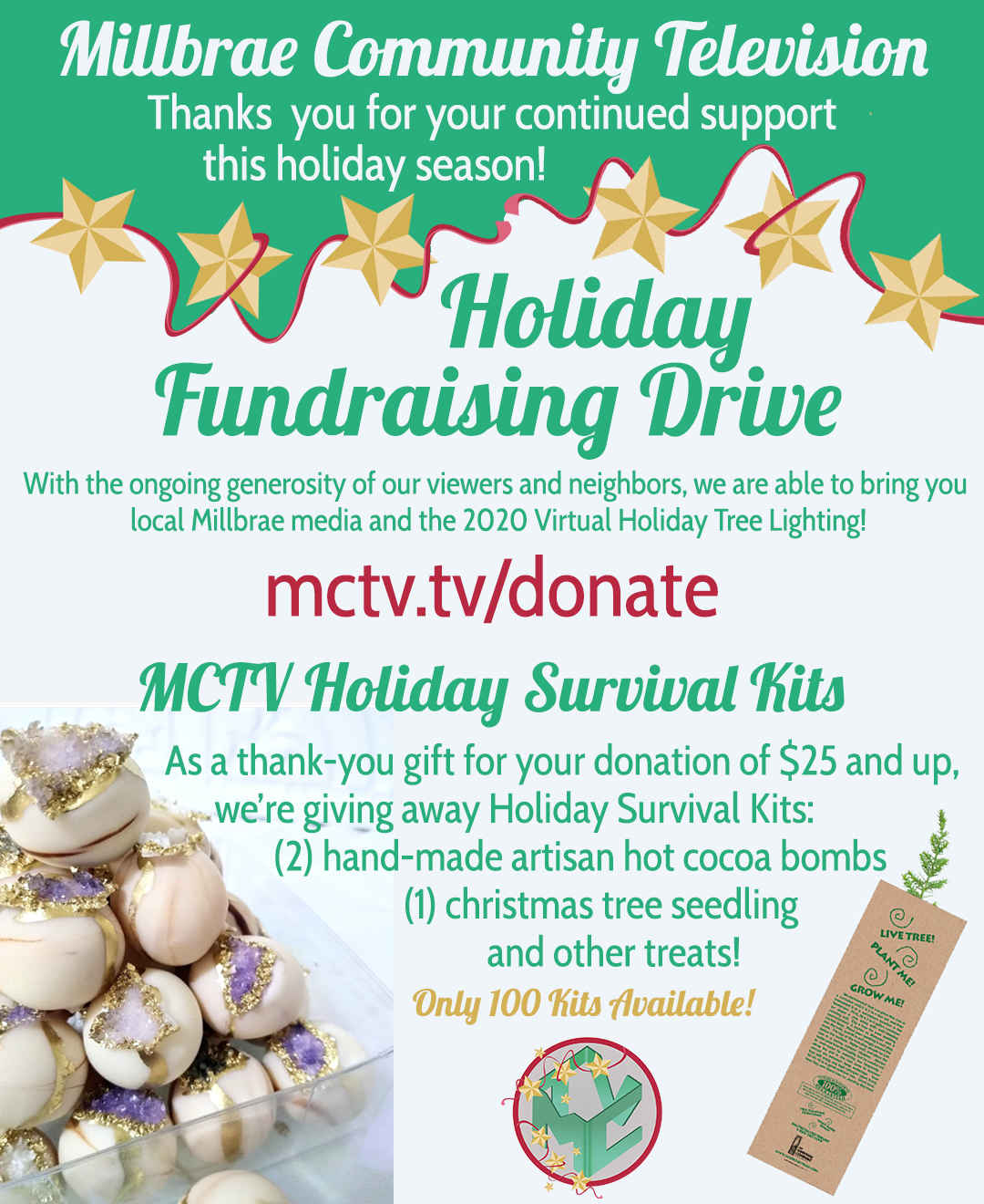 MCTV Holiday Cocoa Survival Kits Are Here! image