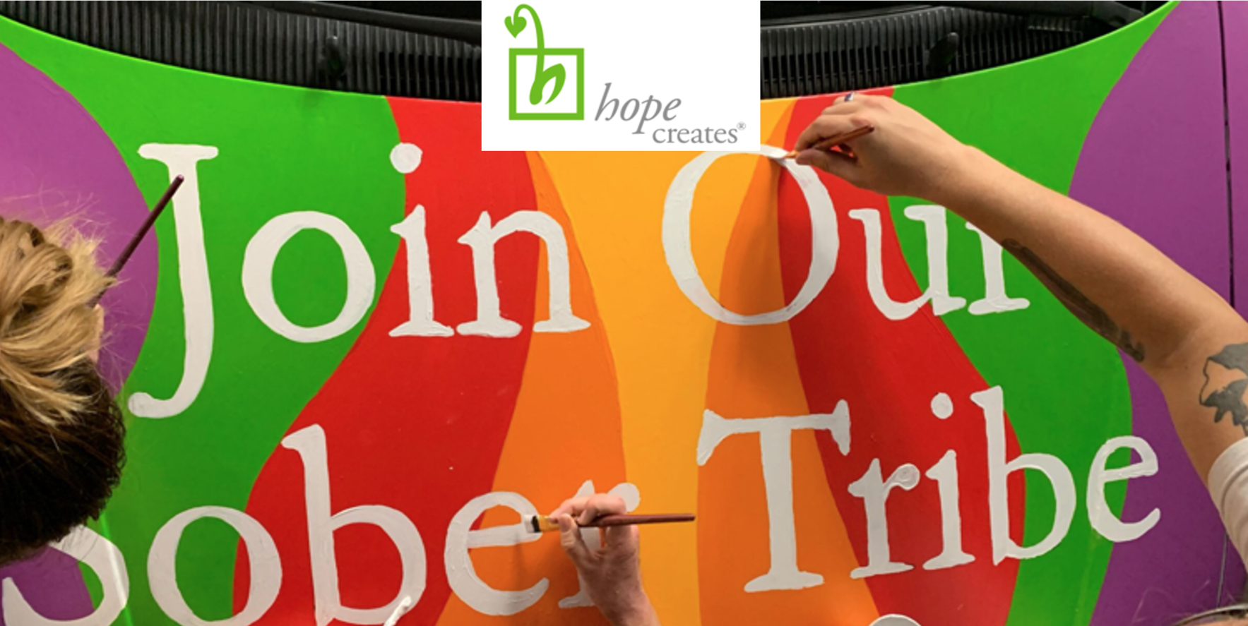 Registration to Hope Creates 2021 Virtual Gala image