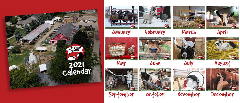 Purchase A 2021 Critter Calendar! image