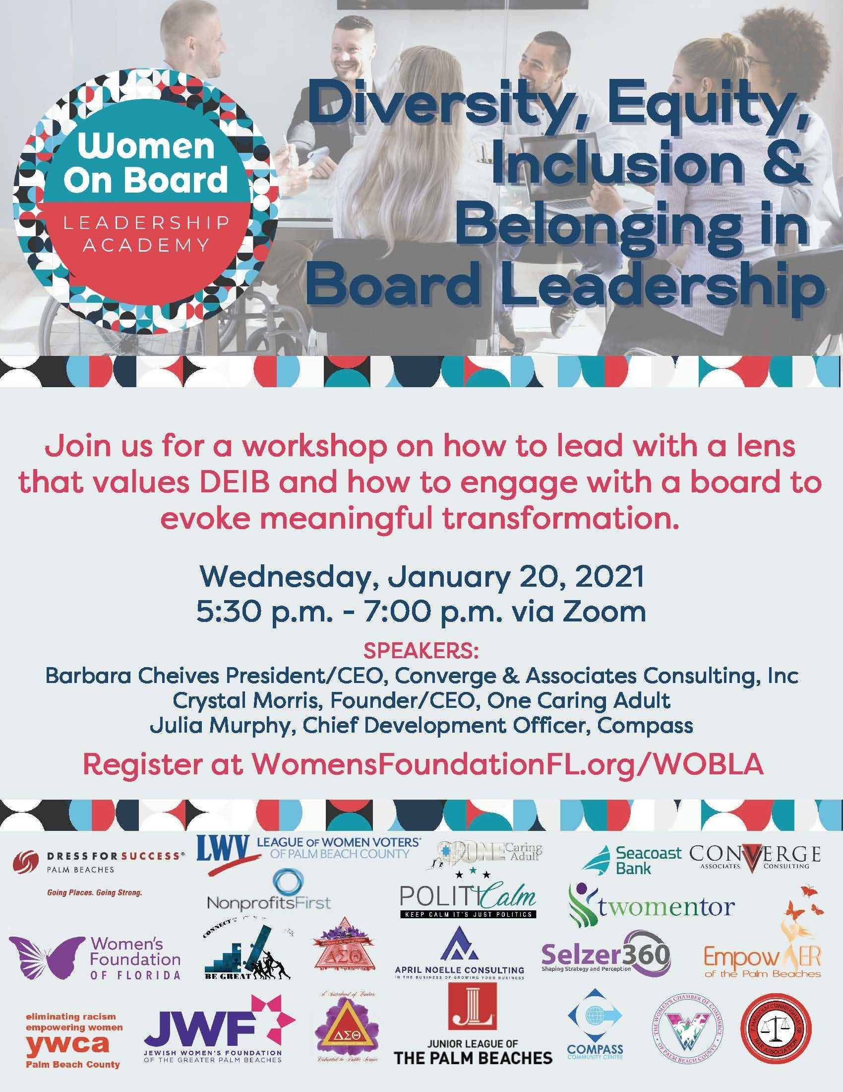 Women on Board Leadership Academy  image
