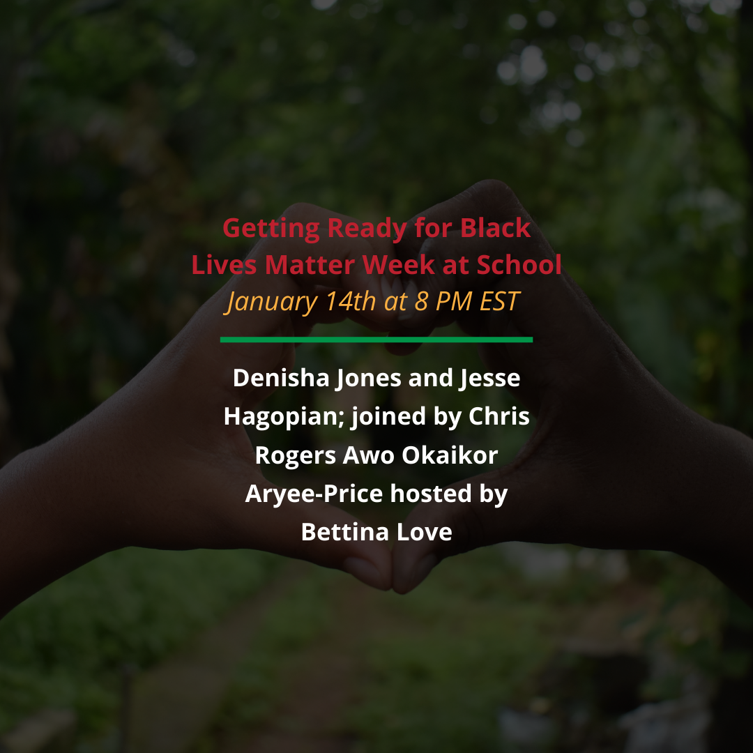 Getting ready for Black Lives Matter Week at School image