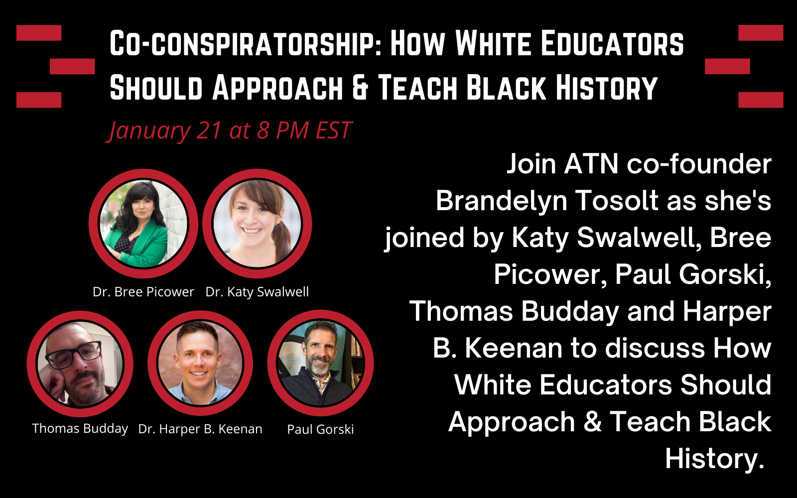 Co-conspiratorship: How White Educators Should Approach & Teach Black History image