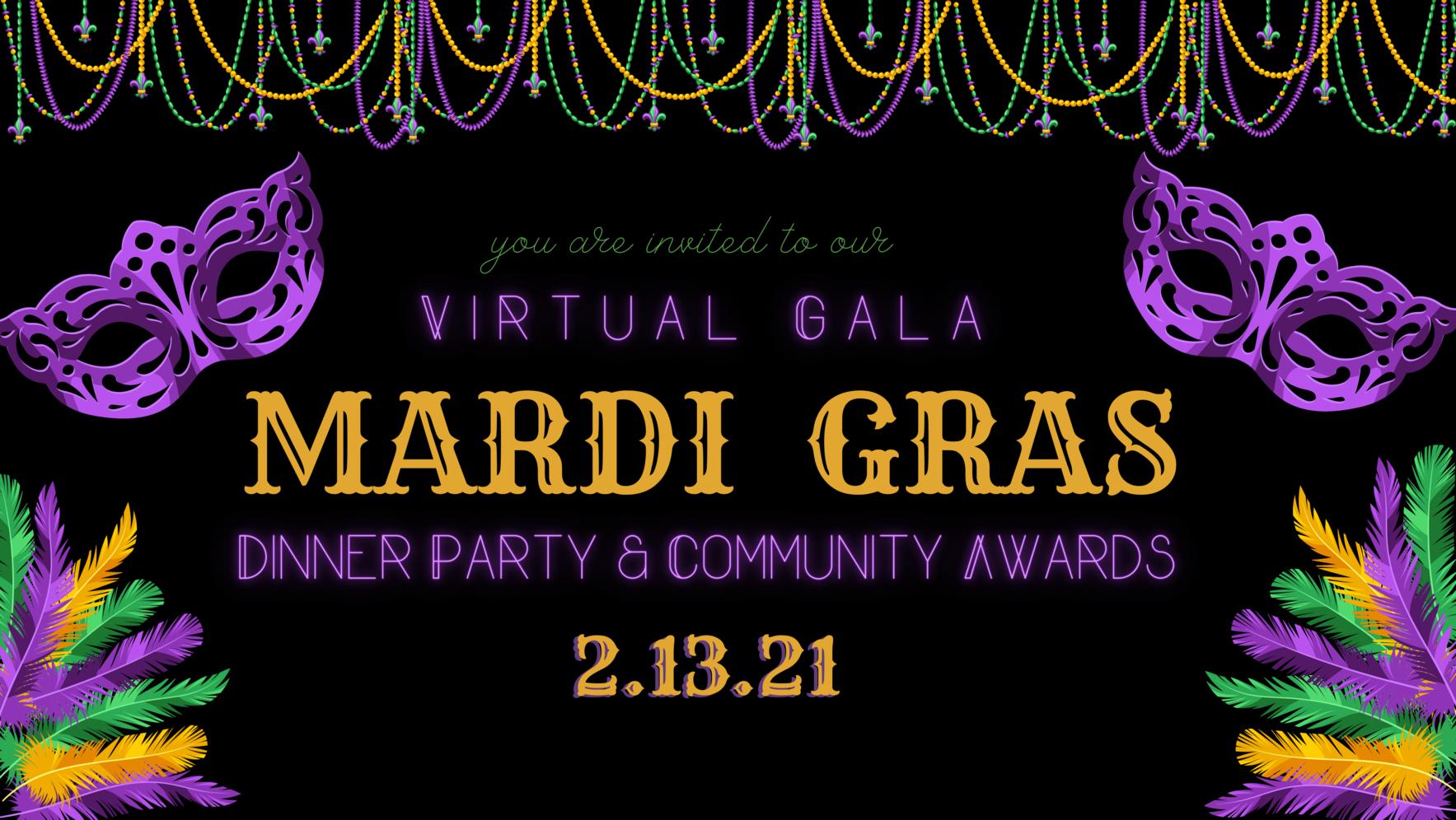 Virtual Gala: Mardi Gras image