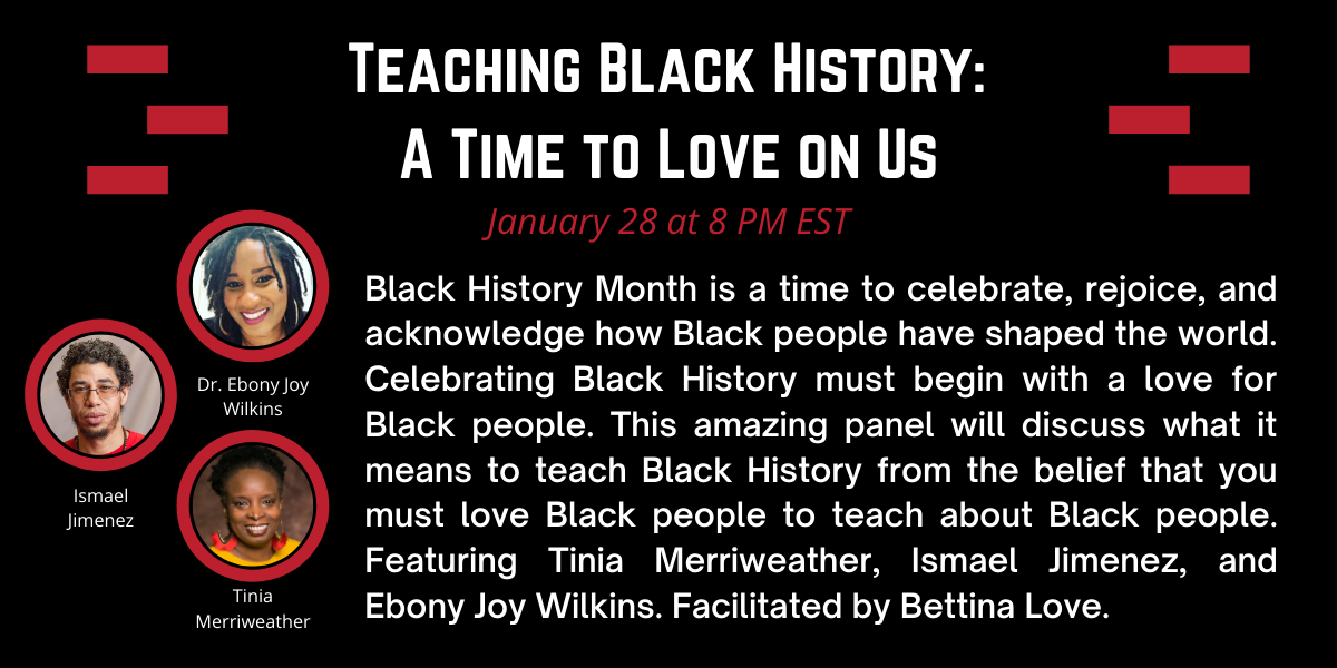 Teaching Black History: A Time to Love on Us image