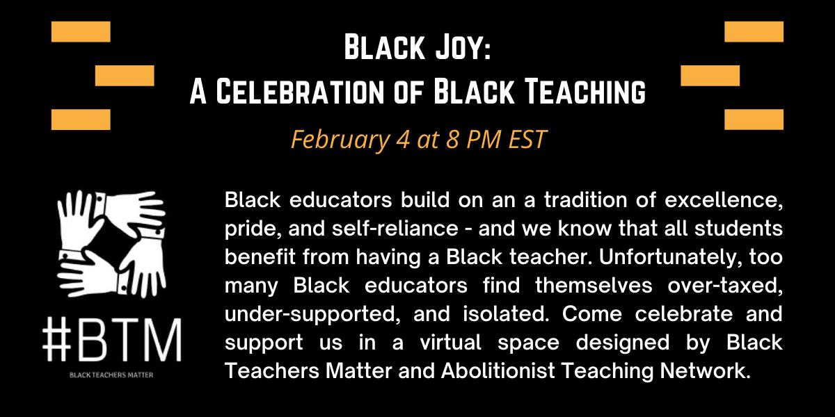 Black Joy: A Celebration of Black Teaching image