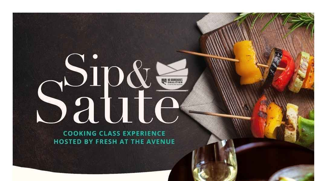 Sip & Saute Experience 2021 image