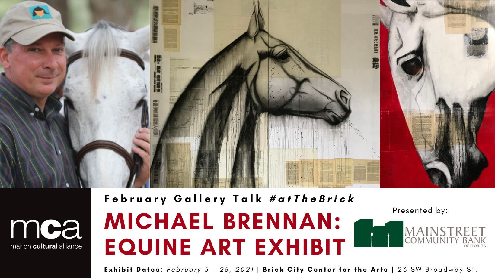 February Gallery Talk with Michael Brennan image