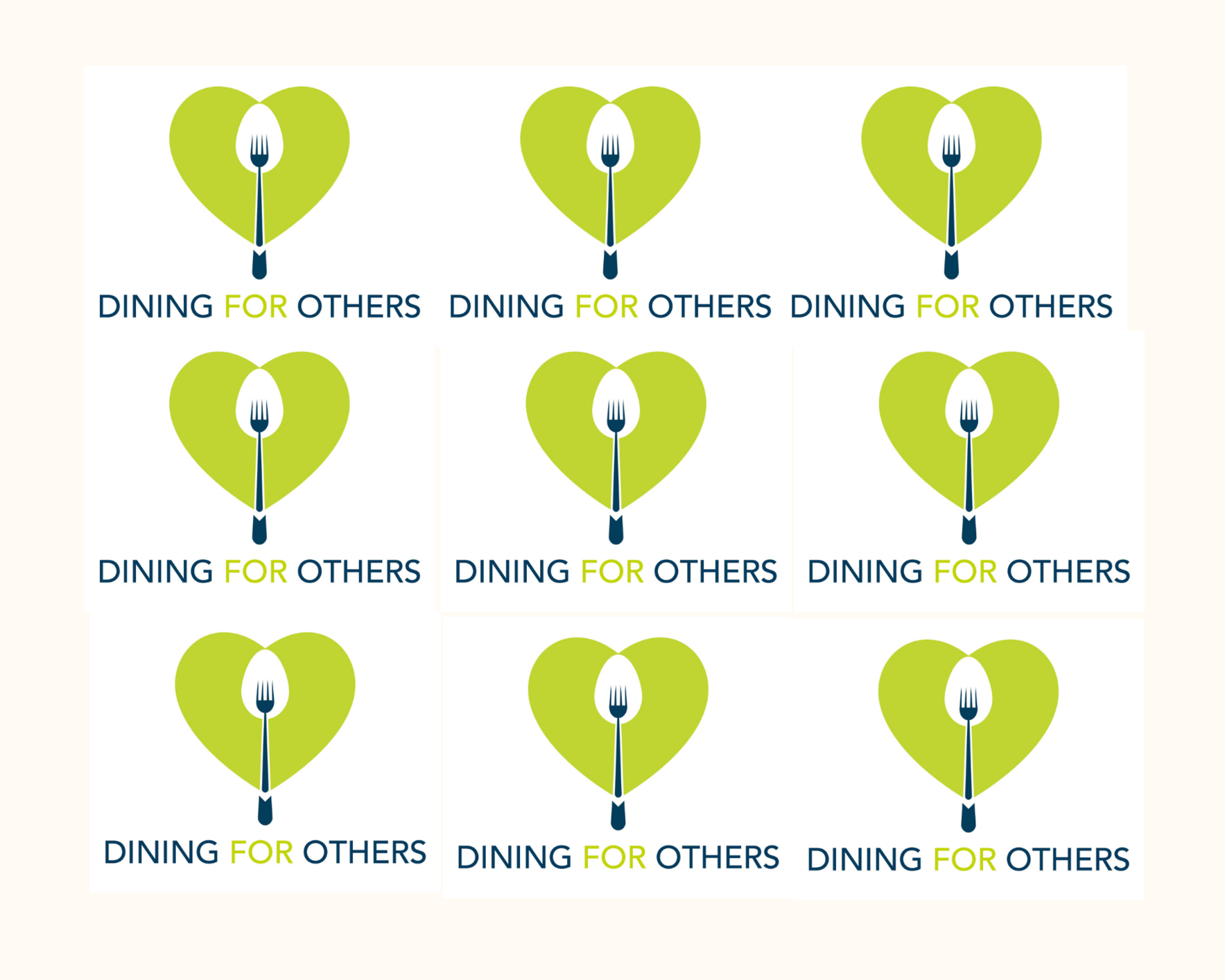 Virtual Dining for Others 2021 image