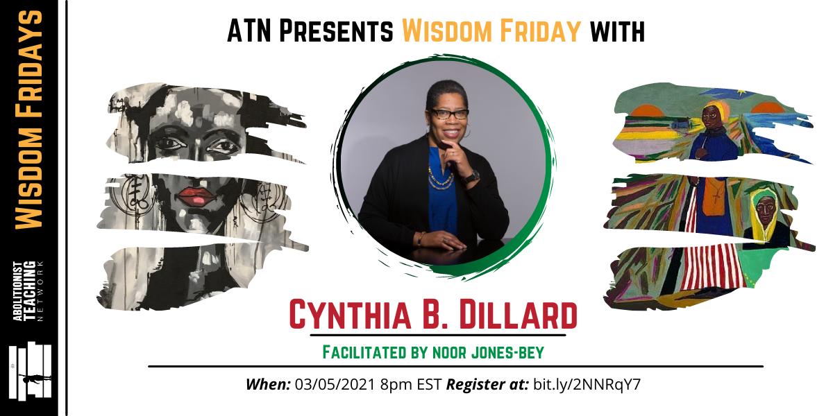 Wisdom Friday w/ Cynthia B. Dillard image