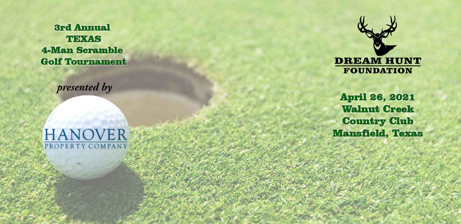 2021 Texas Dream Hunt Golf Tournament image