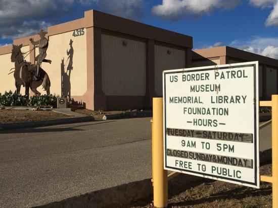 Night at the Border Patrol Museum image