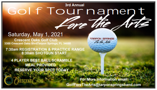 3rd Annual Golf Tournament Fore the Arts image