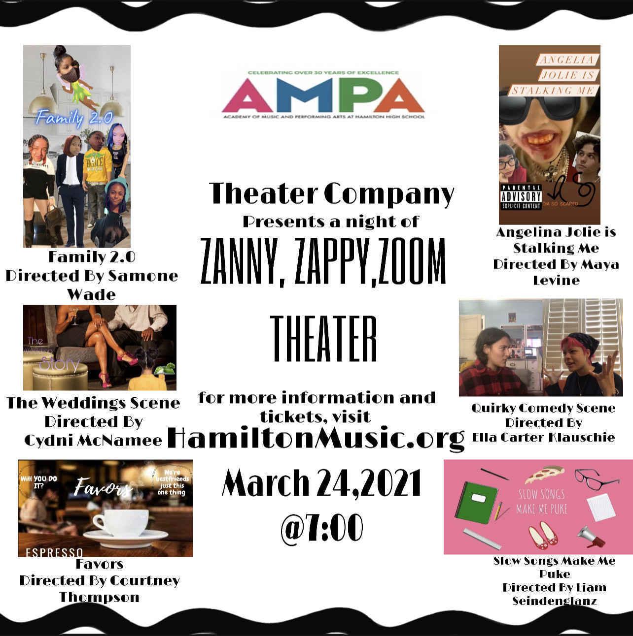 Zanny, Zappy, Zoom Theater image