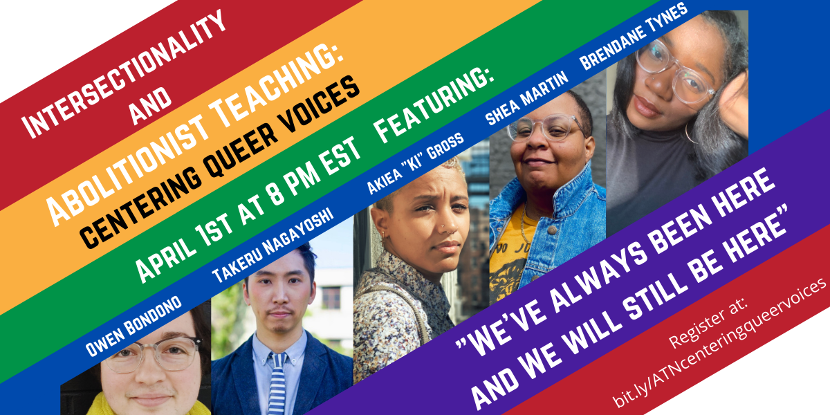 Intersectionality and Abolitionist Teaching: Centering Queer Voices image