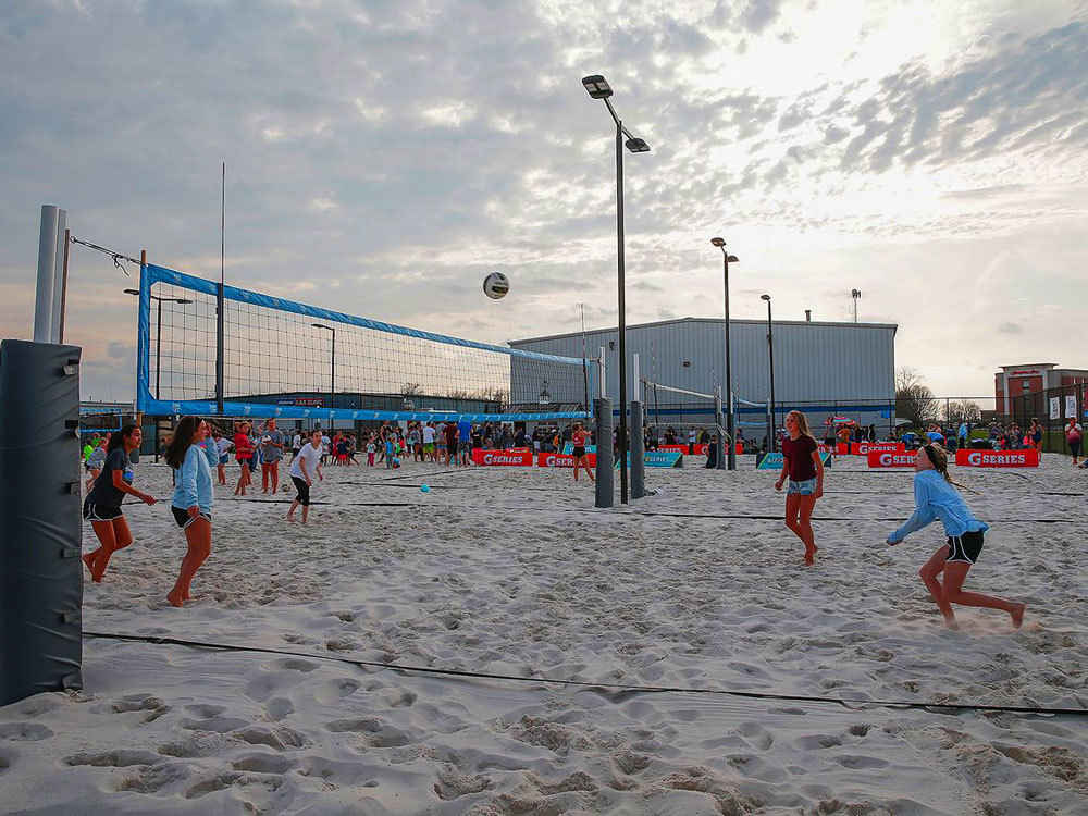 Student Impact Beach Volleyball 2021 image