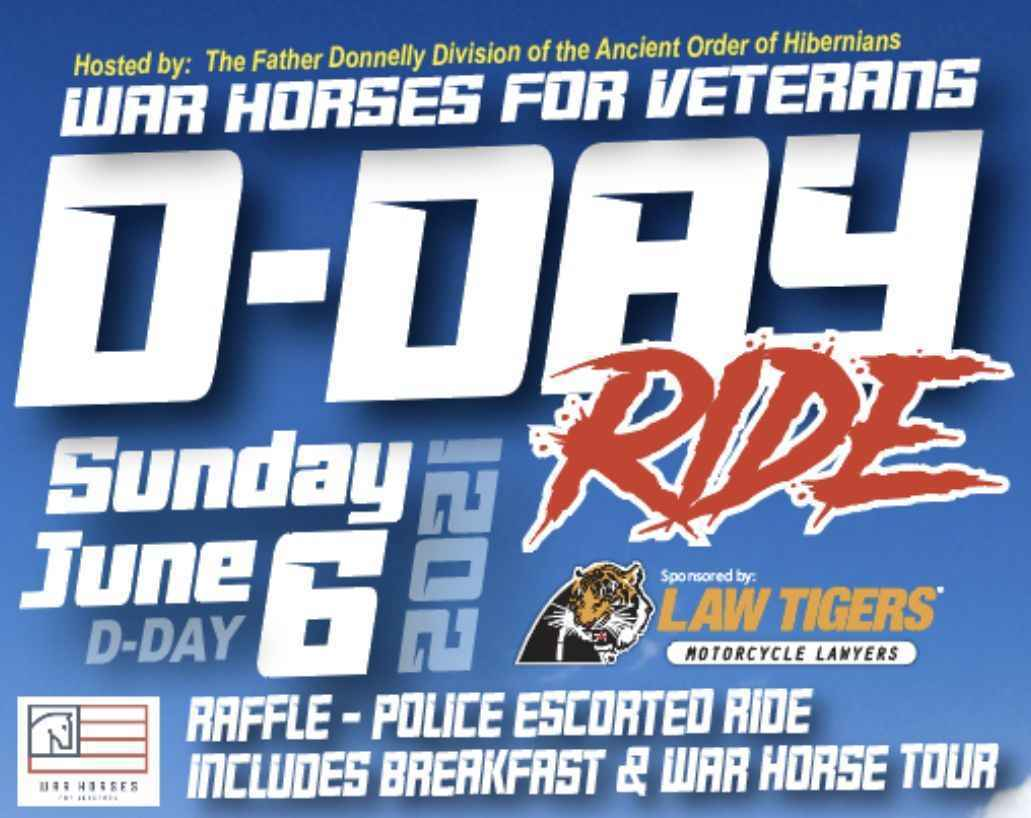 War Horses for Veterans D-Day Ride image