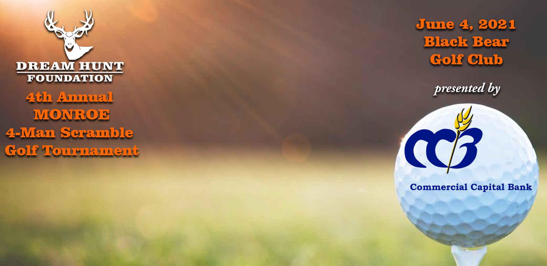 2021 Monroe Dream Hunt Golf Tournament image