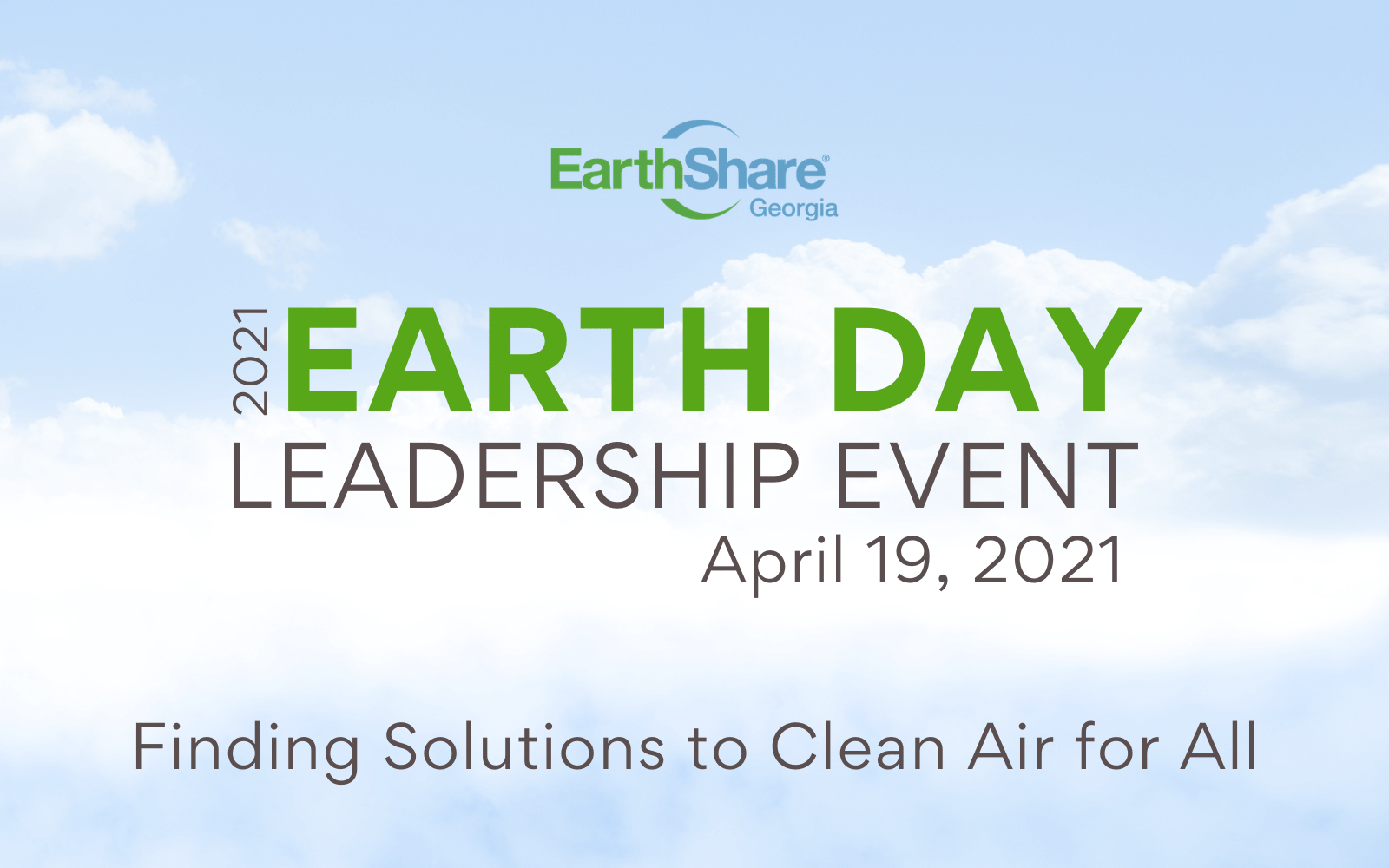 2021 Earth Day Leadership Event image