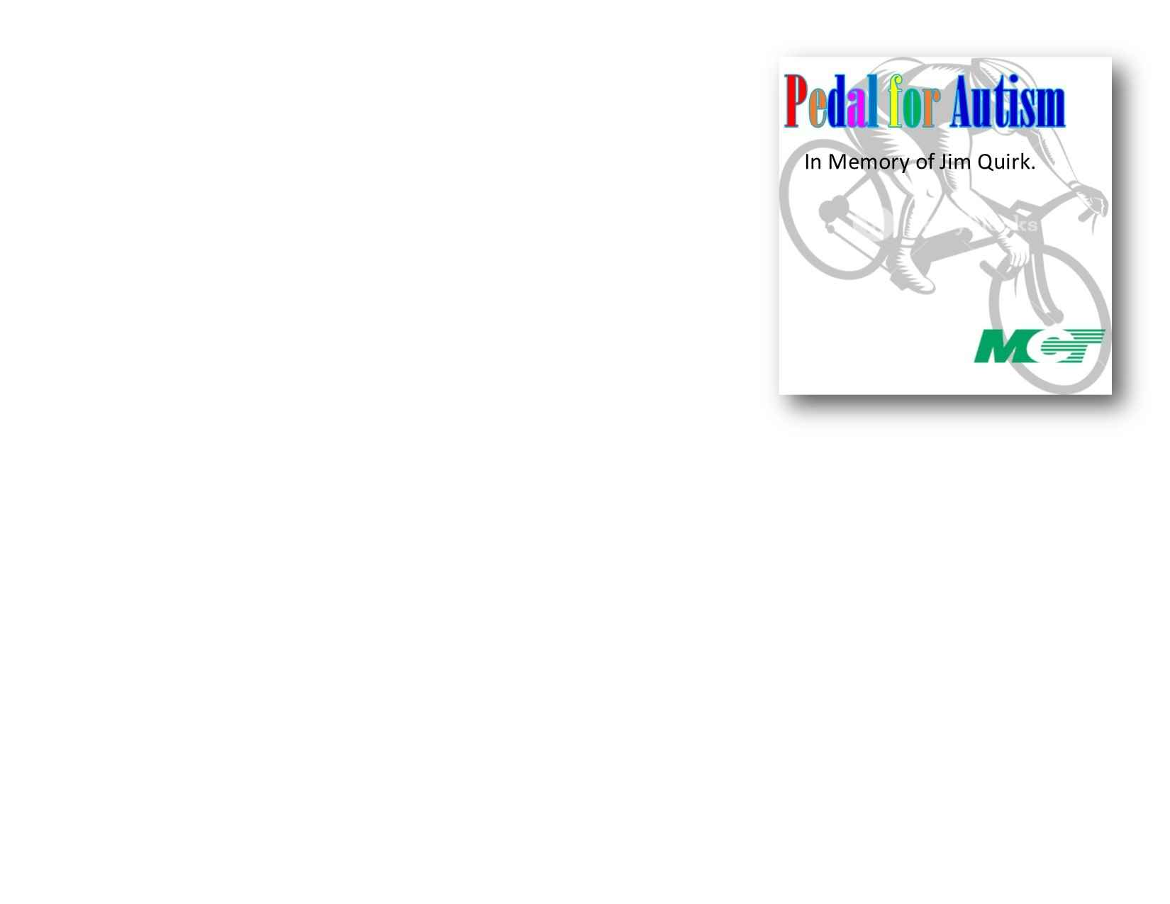 Tickets & T-Shirts-2021 Pedal for Autism image
