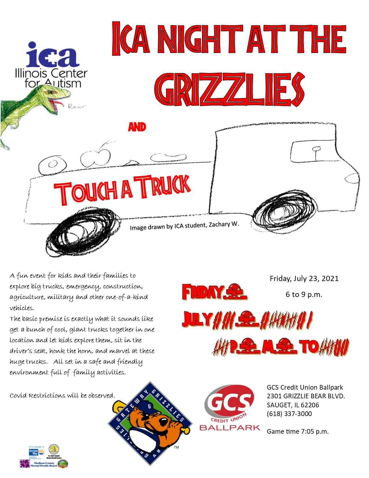 2021 Touch a Truck Sponsorship Opportunities image