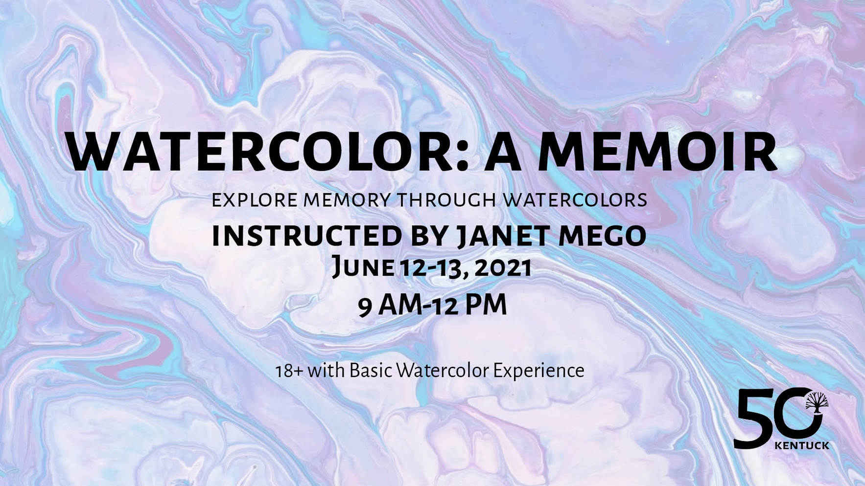 Watercolor: A Memoir with Janet Mego image