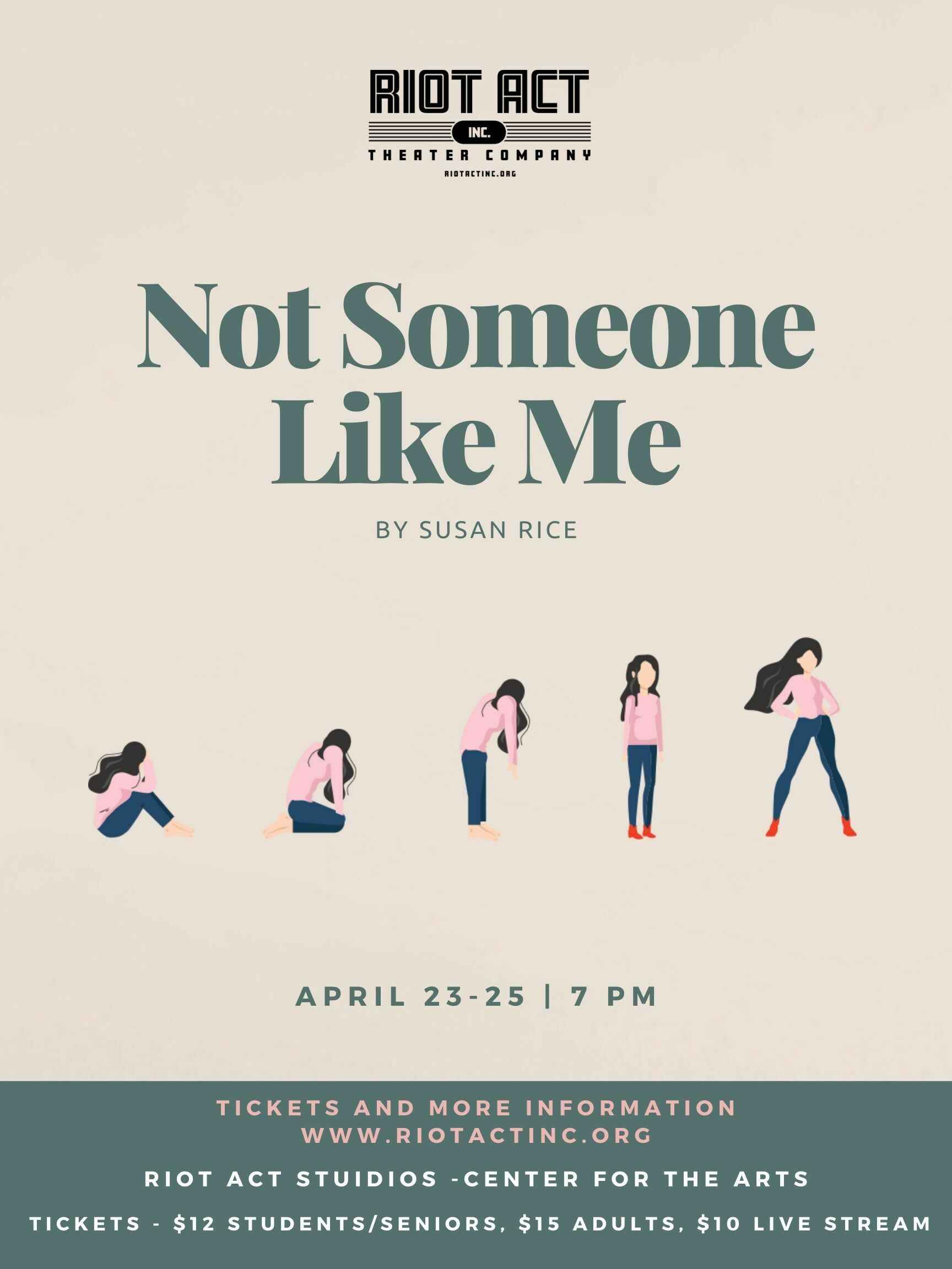 Not Someone Like Me by Susan Rice image