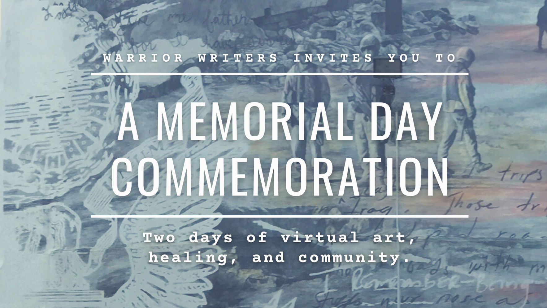 Warrior Writers Memorial Day Commemoration image