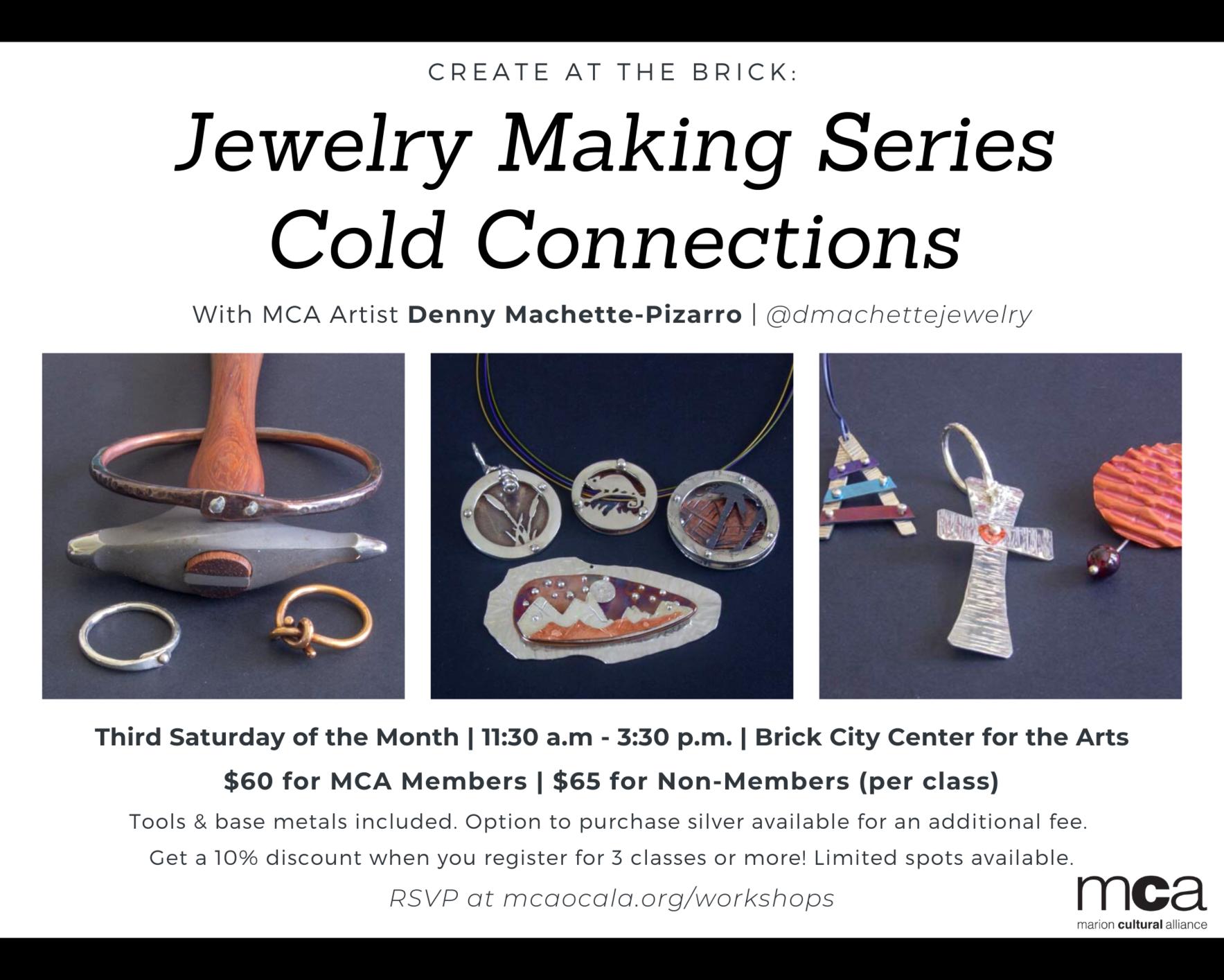 CREATE at The Brick: Jewelry Making image