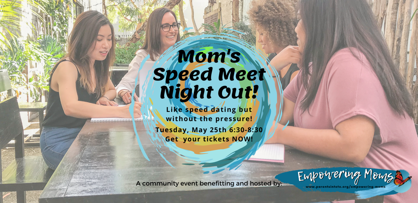 Mom's Speed Meet Night Out image
