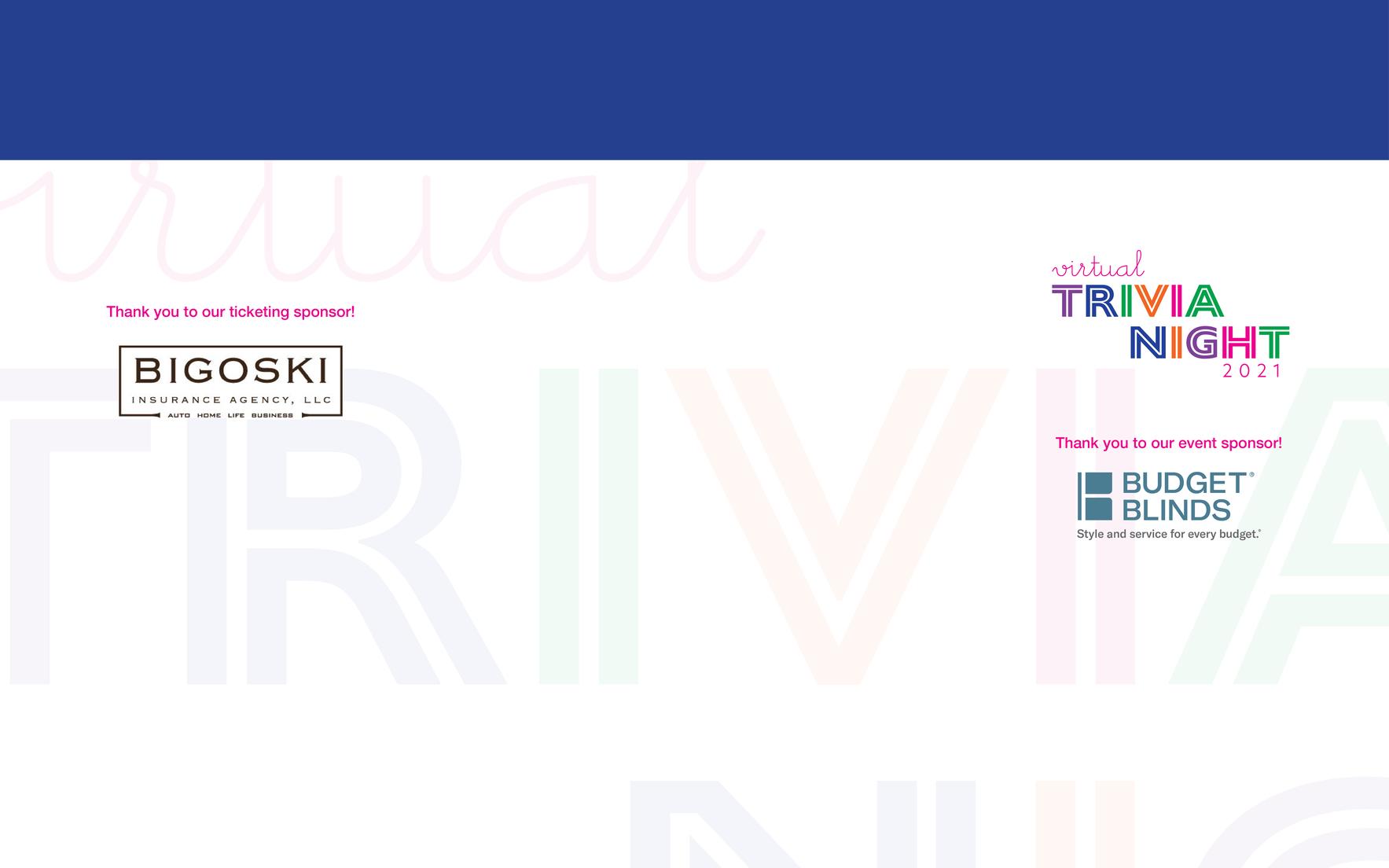 Virtual Trivia Night 2021 image