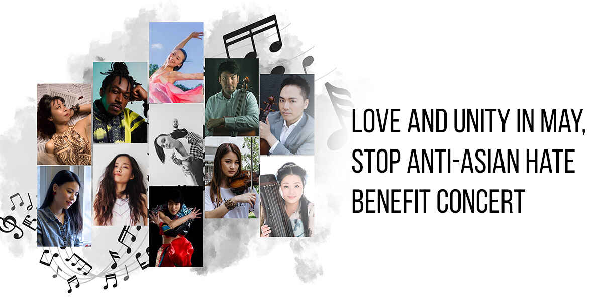 Love and Unity in May - Stop Anti Asian Hate image