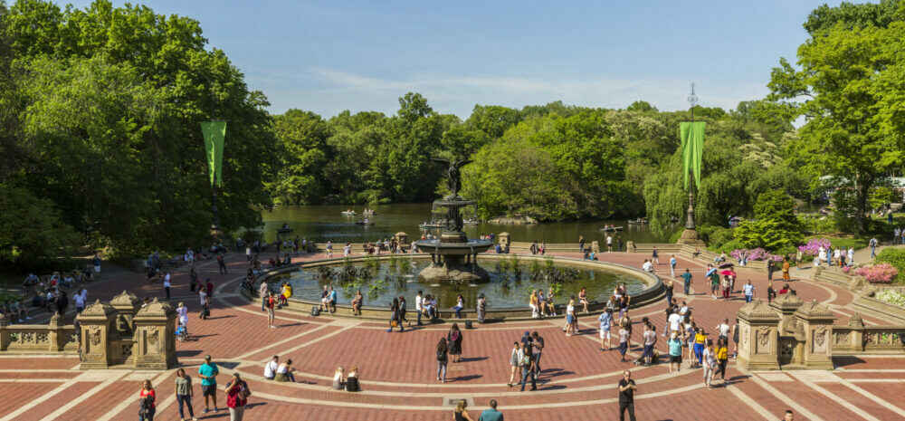 FINAL DATE for WHITE WAVE at Bathesda Fountain, Central Park, May 6, 2021, 4pm! image