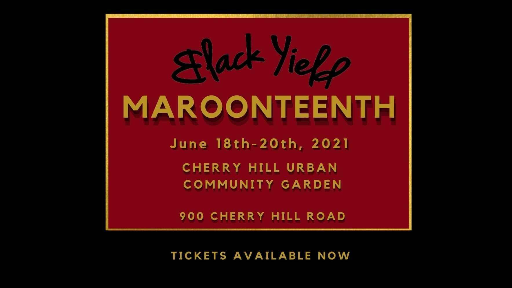 Maroonteenth Weekend 2021 image