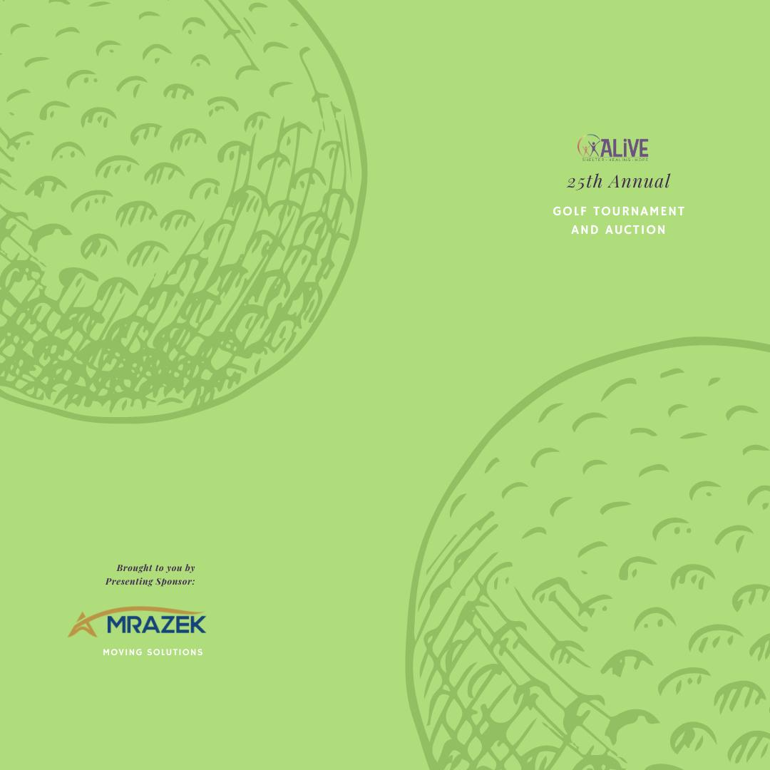 ALIVE's 25th Annual Golf Tournament image